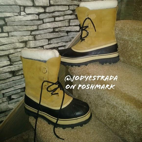 5fe6e1ec76f NWB Mens Sorel Caribou Waterproof Winter Boots